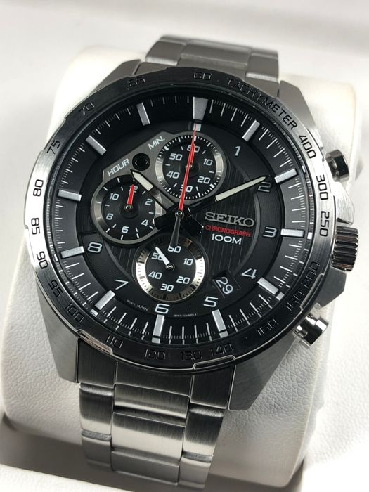 Seiko - Sports Chronograph - SSB319P1 - Men - 2011-present