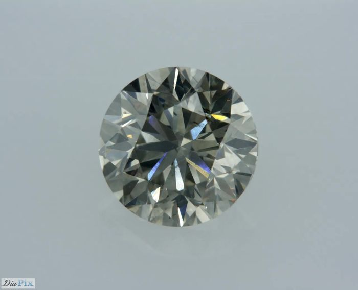 1 Diamante - 1.3 ct - Brillante - Gris - ** LOW RESERVE **, VS2