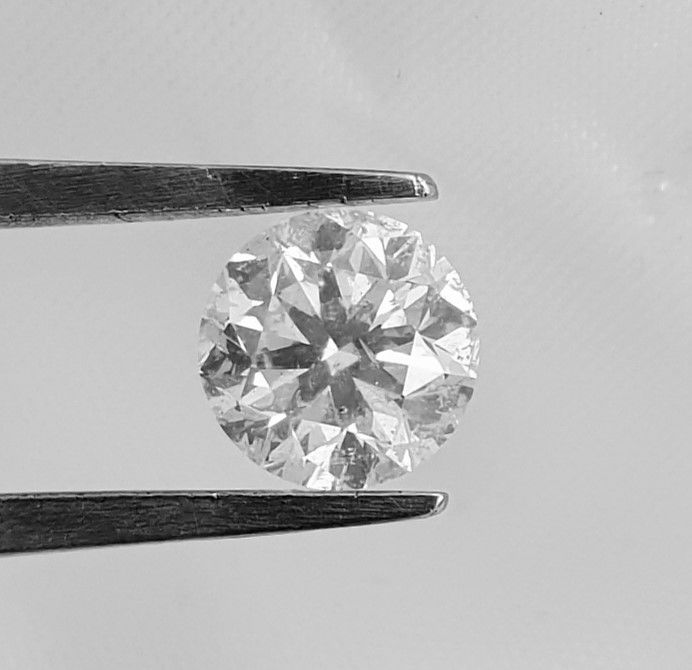 1.21 carat  - D color - SI1 clarity  - Cut =  EX - Natural Diamond  Comes With Big AIG Certificate + Laser Inscription On Girdle .