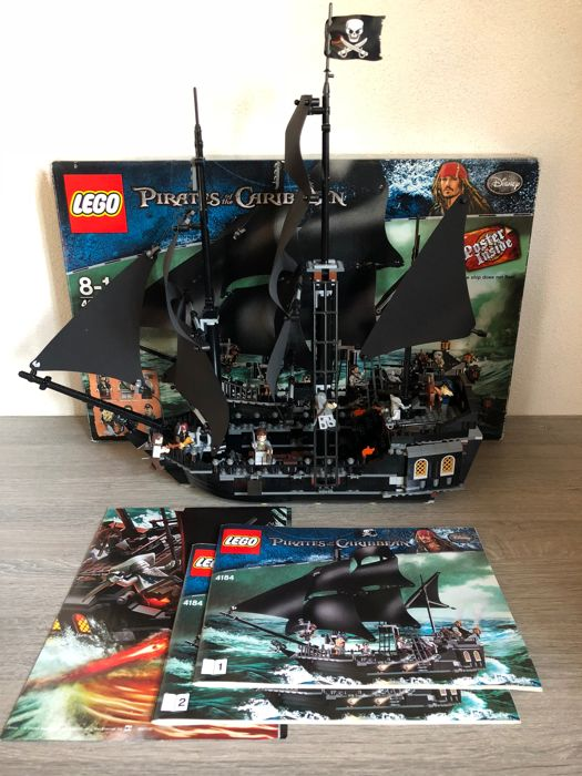 Lego Pirates Of The Caribbean 4184 Ship The Black Pearl 2000