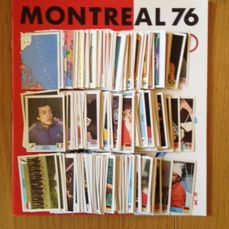 Panini - Montreal 76 - Empty album with complete loose sticker set