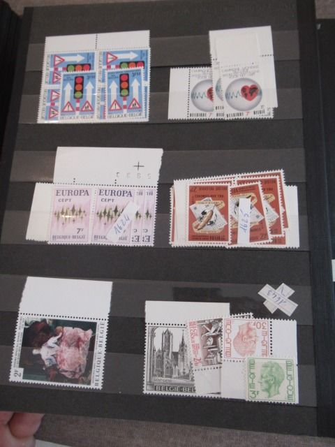 Belgium and other countries - Stamp collection