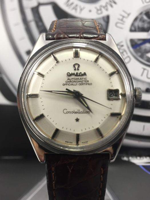 "Omega - Constellation Pie Pan ""NO RESERVE PRICE"" - 27258528 - Homem - 1960-1969"