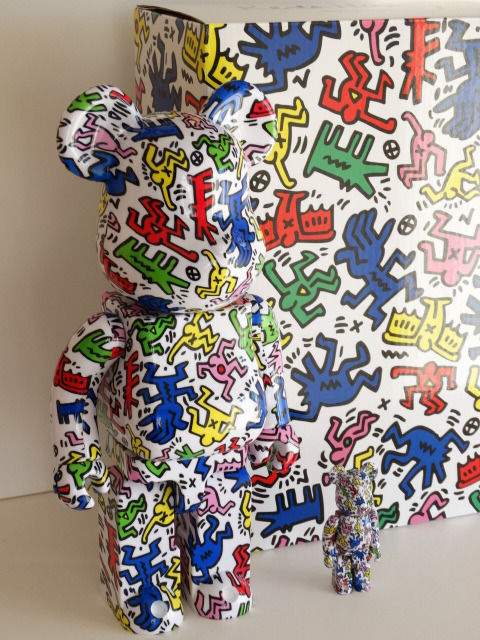 Keith Haring - Medicom articulated figures