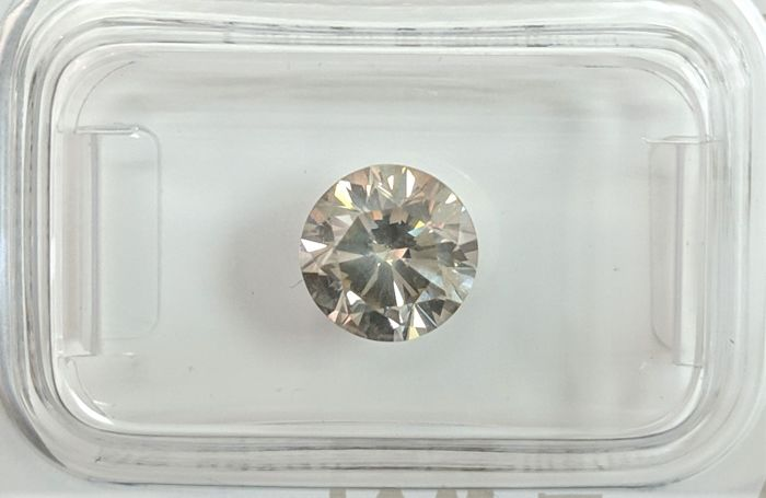 Diamond - 1.5 ct - Brilliant - Green - No Reserve Price, SI1