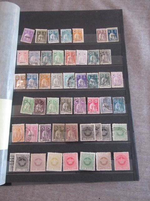 Portugal and Portuguese colonies - Stamp collection