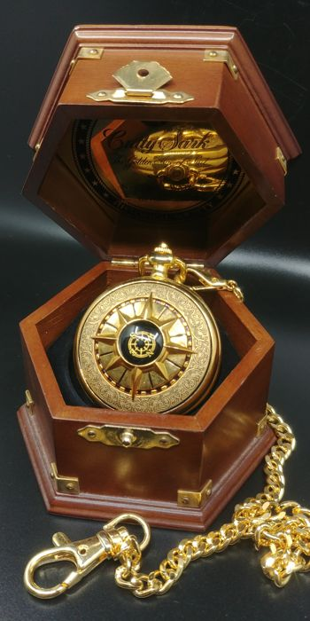 Franklin Mint Cutty Sark Nautical Pocket Watch - see existing