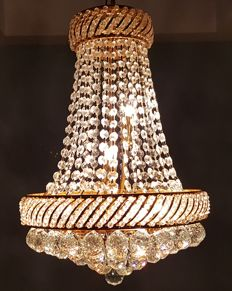 Crystal chandelier, early 21st century