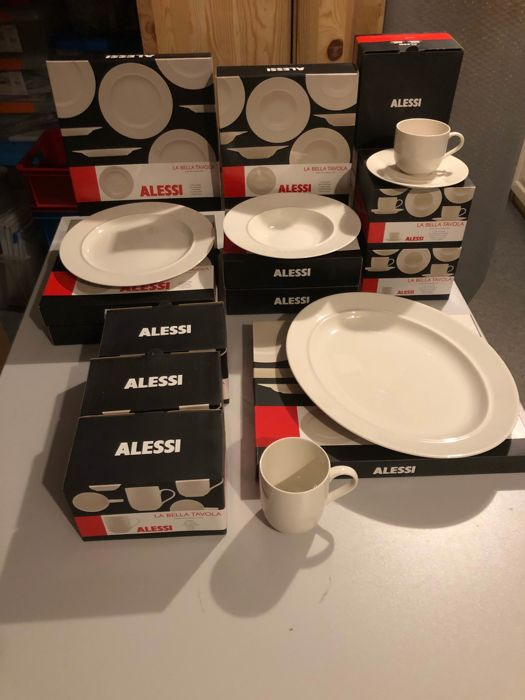 Alessi Kitchenware La Bella Tavola 25 Piecees New Catawiki