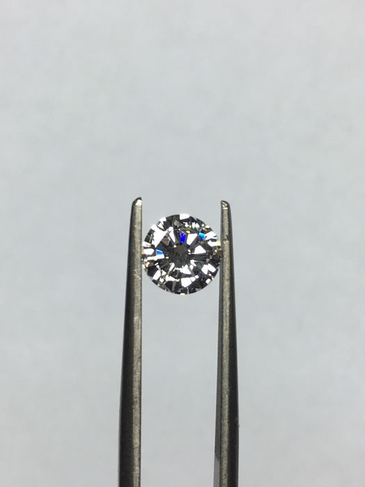 IGI - Diamond, 0.67 ct Brilliant cut, H/VVS1