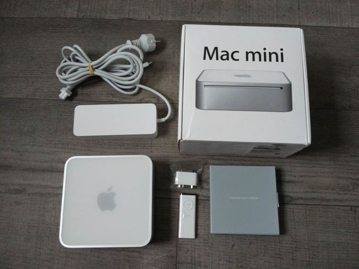 Apple Mac Mini - Model A1176 - Intel Core2Duo 1.83Ghz, 1GB RAM, 80GB HDD - Complete in original box