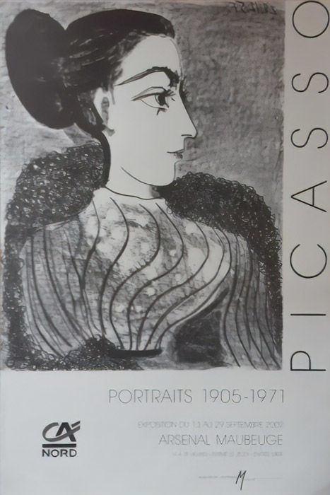 Picasso - Portraits (Woman with bun) - 1992