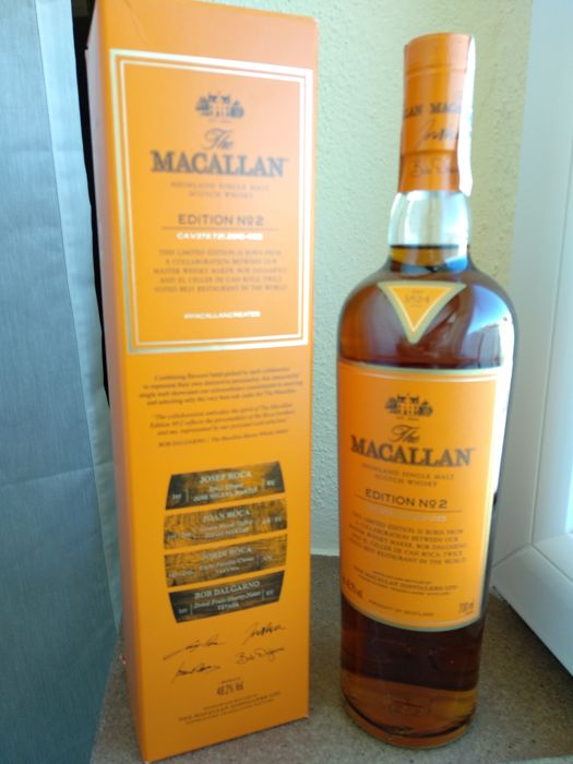 Macallan Edition nº2 - 70cl