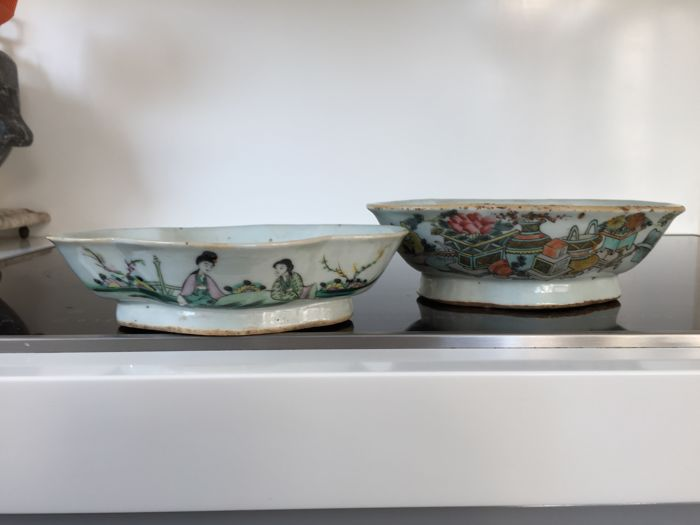 Two porcelain bowls - China - approx. 1900/1920