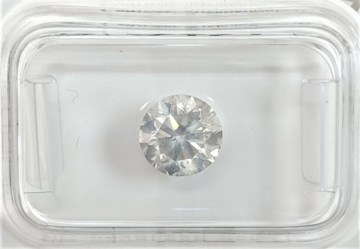 1.38 ct - Natural White Diamond - F Color - SI2 - VG/VG/VG - NO RESERVE!