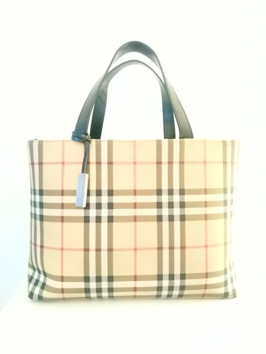 Burberry - Nova check. Tote bag - Catawiki eaad0de71896c