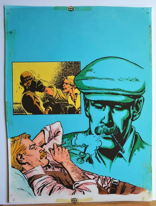 LancioStory  #27 - Mandrafina Domingo - original cover - Loose page - First edition - (1978)