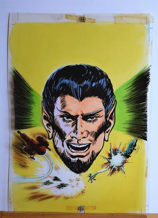 Skorpio #19 - Oliveira Lucho - original cover - Loose page - First edition - (1978)