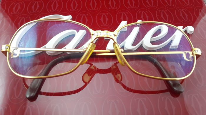 3e7aa2ae905 Cartier - Panthere 1989 Glasses - Vintage - Catawiki