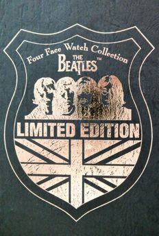 Set Of 4 Ltd Edition The Beatles Four Face Watch Collection 3068/5000 Sets