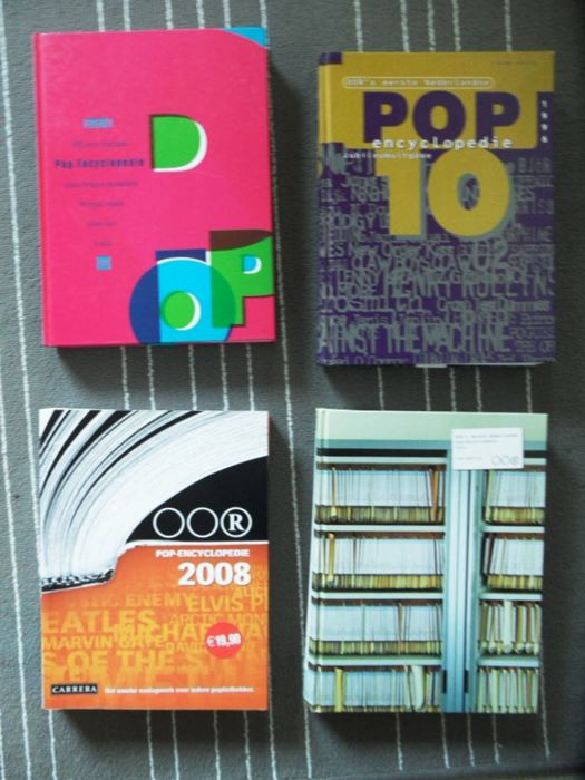 4 books pop encyclopedie  Oor