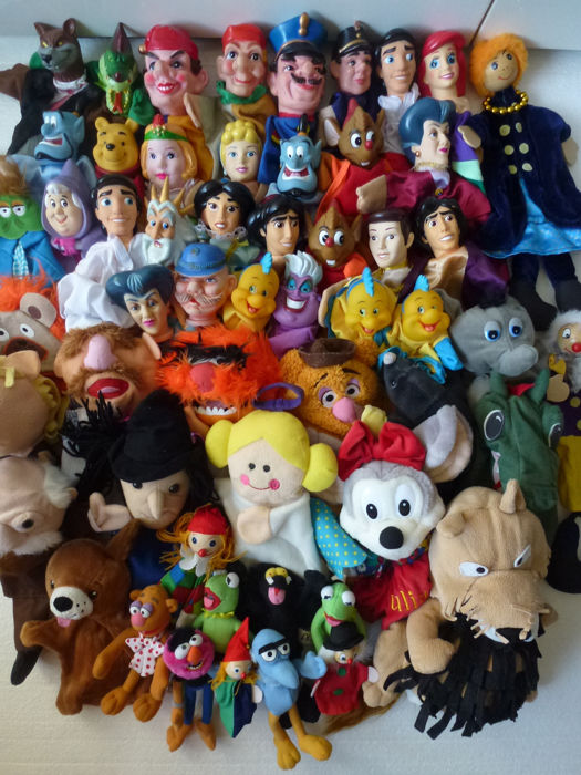 Disney Collection Puppetry Dolls Muppet Finger