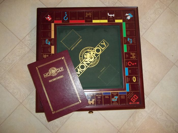 Franklin Mint Monopoly  - The Collector's Edition - 1991 - Very good condition.