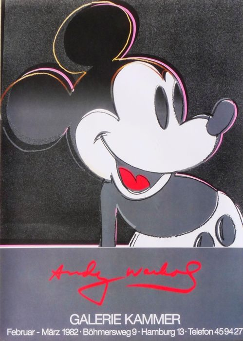 Andy Warhol - Micky Mouse