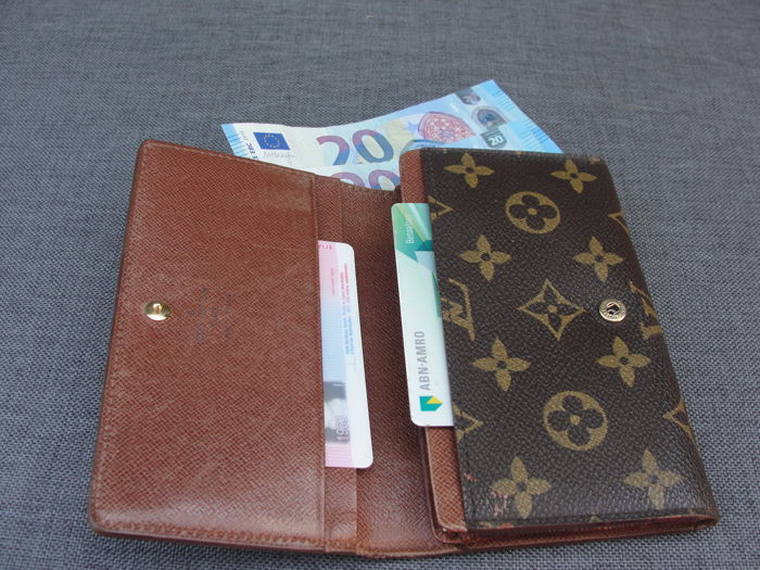 Only Portemonnee.Louis Vuitton Monogram Canvas Portemonnee Wallet Catawiki