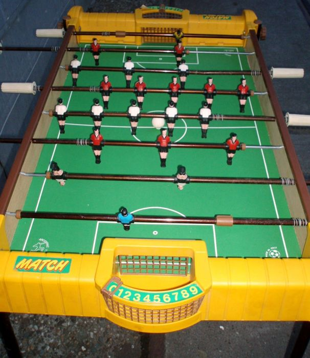 Vintage Match Arco Falc Foostball Table Match Made