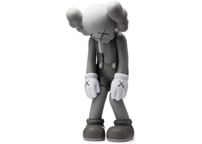 Kaws - Companion - Small Lie (Grey)
