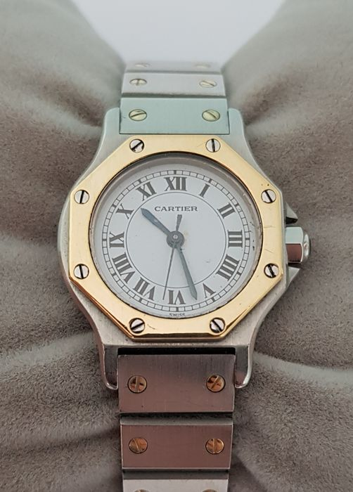 Cartier Santos Octagonal - Women's watch - 1990–1999