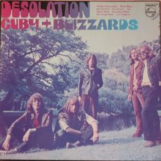 "Rare UK copy of Cuby + Blizzards album ""Desolation"", in great condition"