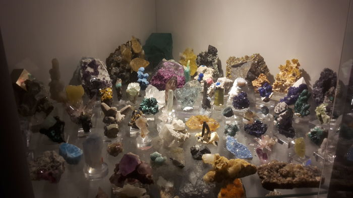 Mineral Collection - 2- 12 cm - 4000 g - (74)