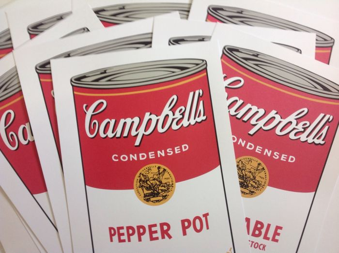 Andy Warhol (naar) - Campbell's Soup 1