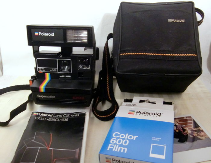 How to load a polaroid supercolor 635cl youtube.
