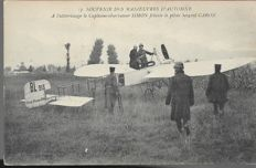 great batch of 20 vintage postcards on aviation and airships