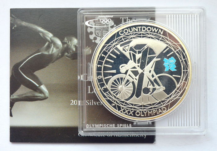 Royaume-Uni - 5 Pounds 2011 Olympics - Cycling - Argent