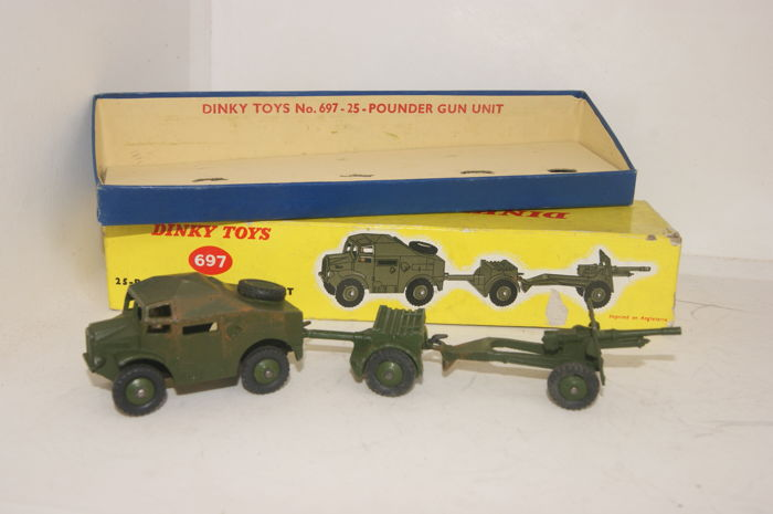 Dinky Toys - 1:48 - British Army 25-Pounder Field Gun Gift Set