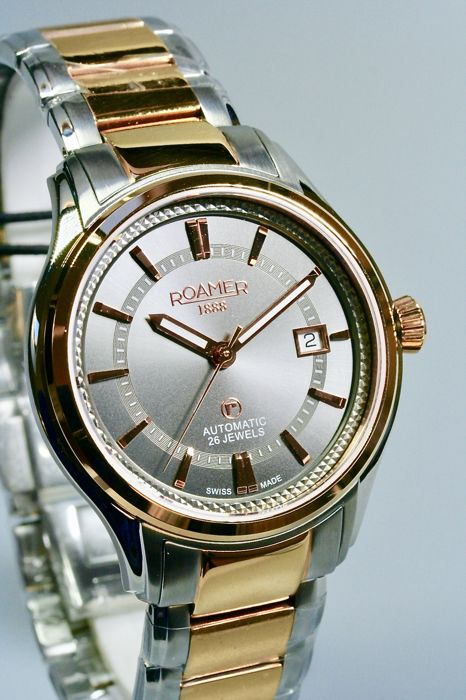 Roamer - R-Matic III  Automatic 26 jewels New - 18k Gold Plated - Heren - 2011-heden