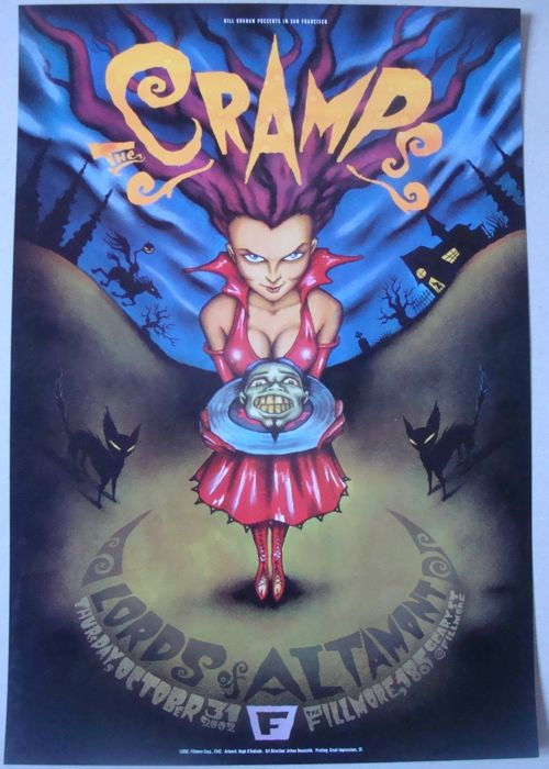 The Cramps Fillmore Auditorium San Francisco 2002