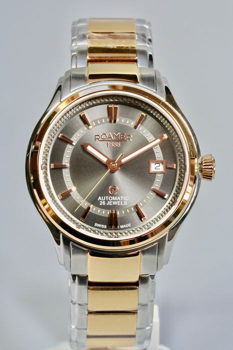 Roamer - R-Matic III  Automatic 26 jewels New - Gold Plated - Men - 2011-present
