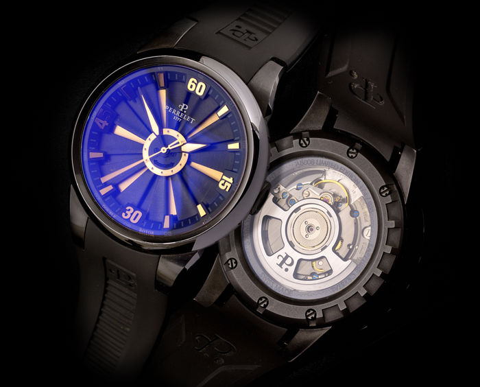 Perrelet - Double Rotor Turbine Automatic Limited Edition - A8008 - Uomo - 2000-2010
