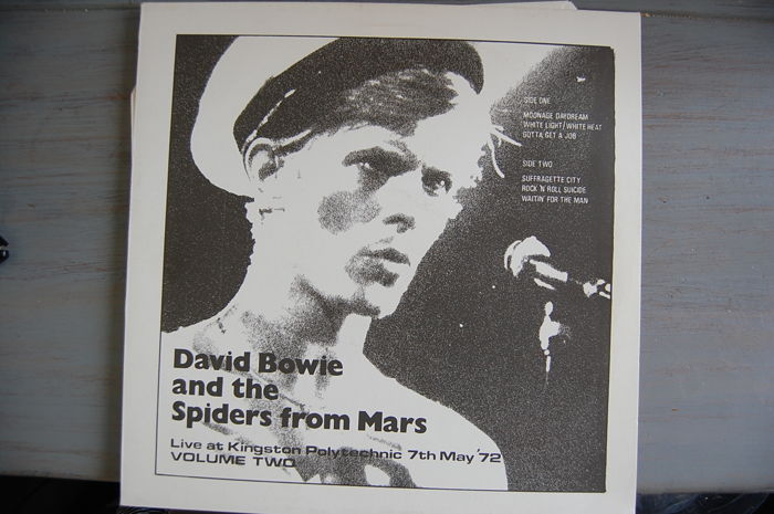 David Bowie And The Spiders From Mars* – Live At Kingston