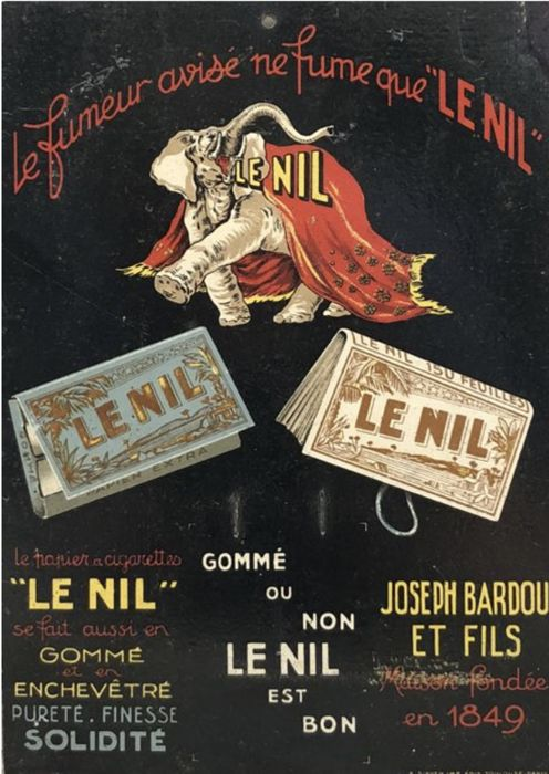 Leonetto Cappiello - Le Nil Vending Display - 1922