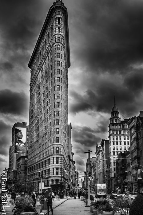 Paul Robert (1955-) - Flat Iron Building, New York, 2016