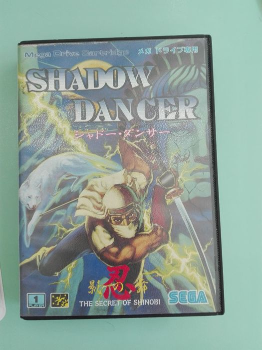 Sega Megadrive Shadow Dancer The Seceret Of Shinobi Jap Version In Original Box