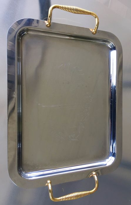 Tray (1) - Stainless Steel 18/10