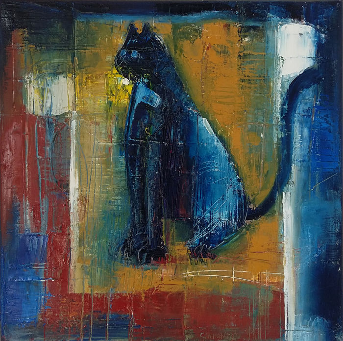 Laurent Chimento - Le chat psychopompe