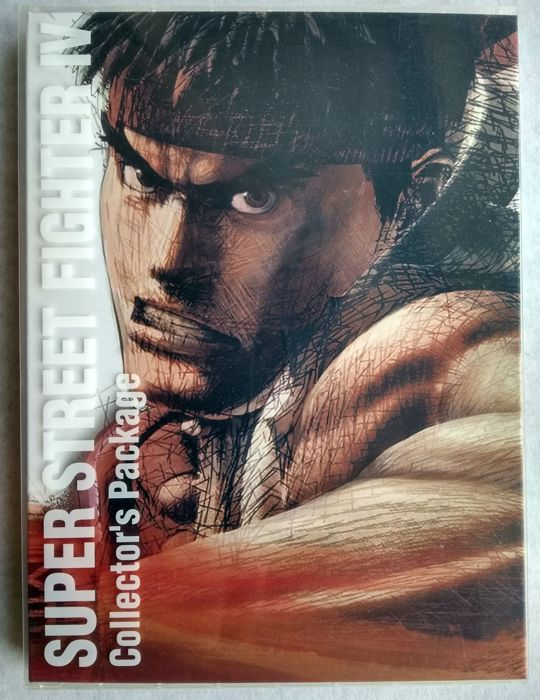 Super Street Fighter IV Collector's Package - for the PlayStation 3 / Xbox 360 (Japanese import) Artbook, DVD and CD